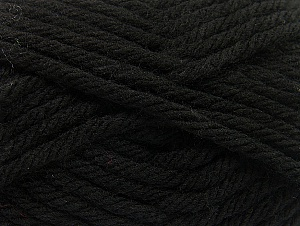 Fiber Content 100% Acrylic, Brand Ice Yarns, Black, Yarn Thickness 6 SuperBulky  Bulky, Roving, fnt2-59788