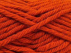 Fiber Content 100% Acrylic, Orange, Brand Ice Yarns, Yarn Thickness 6 SuperBulky  Bulky, Roving, fnt2-59794