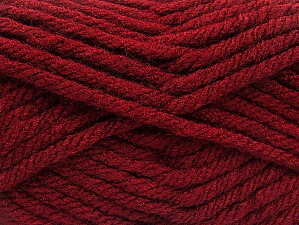 Fiber Content 100% Acrylic, Brand Ice Yarns, Dark Burgundy, Yarn Thickness 6 SuperBulky  Bulky, Roving, fnt2-59795