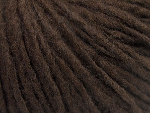 Fiber Content 50% Acrylic, 50% Wool, Brand Ice Yarns, Coffee Brown, Yarn Thickness 4 Medium  Worsted, Afghan, Aran, fnt2-59799