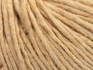 Fiber Content 50% Acrylic, 50% Wool, Brand Ice Yarns, Dark Cream, Yarn Thickness 4 Medium  Worsted, Afghan, Aran, fnt2-59800