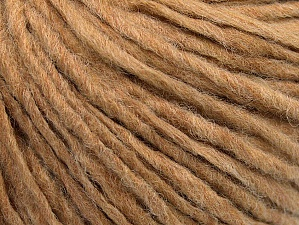 Fiber Content 50% Acrylic, 50% Wool, Brand Ice Yarns, Cafe Latte, Yarn Thickness 4 Medium  Worsted, Afghan, Aran, fnt2-59801
