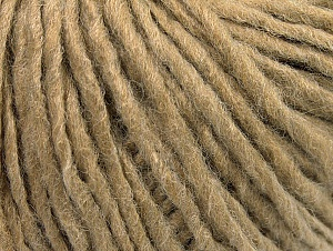 Fiber Content 50% Acrylic, 50% Wool, Light Camel, Brand Ice Yarns, Yarn Thickness 4 Medium  Worsted, Afghan, Aran, fnt2-59805