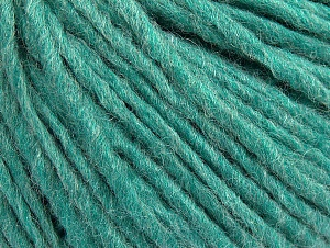 Fiber Content 50% Acrylic, 50% Wool, Light Emerald Green, Brand Ice Yarns, Yarn Thickness 4 Medium  Worsted, Afghan, Aran, fnt2-59813