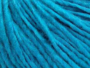 Fiber Content 50% Acrylic, 50% Wool, Turquoise, Brand Ice Yarns, Yarn Thickness 4 Medium  Worsted, Afghan, Aran, fnt2-59814