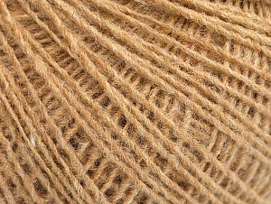 Fiber Content 50% Acrylic, 50% Wool, Brand Ice Yarns, Cafe Latte, Yarn Thickness 2 Fine  Sport, Baby, fnt2-60008