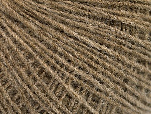 Fiber Content 50% Acrylic, 50% Wool, Brand Ice Yarns, Camel Melange, Yarn Thickness 2 Fine  Sport, Baby, fnt2-60009
