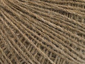 Fiber Content 50% Wool, 50% Acrylic, Brand Ice Yarns, Camel Melange, Yarn Thickness 2 Fine  Sport, Baby, fnt2-60009