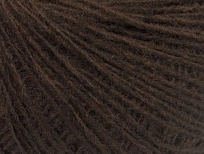 Fiber Content 50% Wool, 50% Acrylic, Brand Ice Yarns, Coffee Brown, Yarn Thickness 2 Fine  Sport, Baby, fnt2-60013