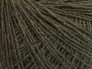 Fiber Content 50% Wool, 50% Acrylic, Khaki, Brand Ice Yarns, Yarn Thickness 2 Fine  Sport, Baby, fnt2-60014