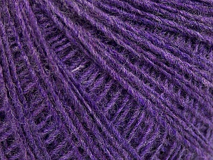 Fiber Content 50% Wool, 50% Acrylic, Lilac, Brand Ice Yarns, Yarn Thickness 2 Fine  Sport, Baby, fnt2-60035
