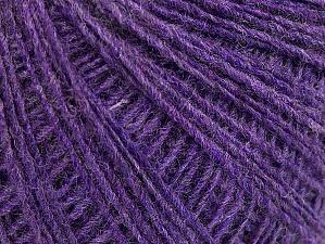 Fiber Content 50% Acrylic, 50% Wool, Lilac, Brand Ice Yarns, Yarn Thickness 2 Fine  Sport, Baby, fnt2-60035