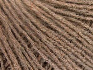 Fiber Content 60% Acrylic, 40% Wool, Brand Ice Yarns, Camel Melange, Yarn Thickness 2 Fine  Sport, Baby, fnt2-60096