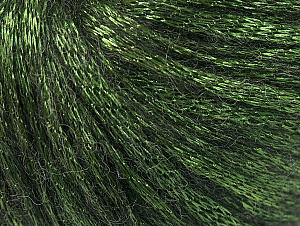 Fiber Content 70% Polyamide, 19% Merino Wool, 11% Acrylic, Brand Ice Yarns, Green, Black, Yarn Thickness 4 Medium  Worsted, Afghan, Aran, fnt2-60104