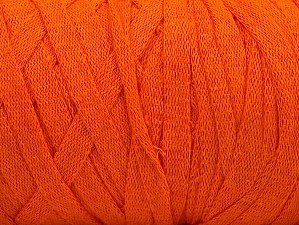 Fiber Content 100% Recycled Cotton, Orange, Brand Ice Yarns, Yarn Thickness 6 SuperBulky  Bulky, Roving, fnt2-60125