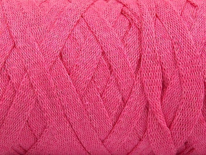 Fiber Content 100% Recycled Cotton, Pink, Brand Ice Yarns, Yarn Thickness 6 SuperBulky  Bulky, Roving, fnt2-60127