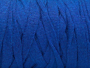 Fiber Content 100% Recycled Cotton, Brand Ice Yarns, Dark Blue, Yarn Thickness 6 SuperBulky  Bulky, Roving, fnt2-60131