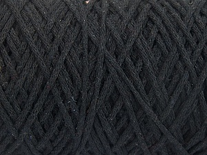 Please be advised that yarn iade made of recycled cotton, and dye lot differences occur. Fiber Content 100% Cotton, Brand Ice Yarns, Black, Yarn Thickness 4 Medium  Worsted, Afghan, Aran, fnt2-60142