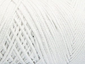 Please be advised that yarn iade made of recycled cotton, and dye lot differences occur. Fiber Content 100% Cotton, Optical White, Brand Ice Yarns, Yarn Thickness 4 Medium  Worsted, Afghan, Aran, fnt2-60143