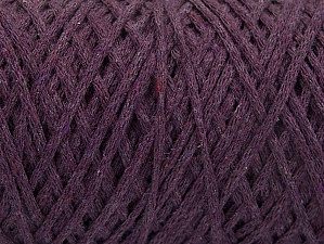 Please be advised that yarn iade made of recycled cotton, and dye lot differences occur. Fiber Content 100% Cotton, Purple, Brand Ice Yarns, Yarn Thickness 4 Medium  Worsted, Afghan, Aran, fnt2-60150
