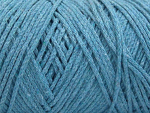 Please be advised that yarn iade made of recycled cotton, and dye lot differences occur. Fiber Content 100% Cotton, Light Blue, Brand Ice Yarns, Yarn Thickness 4 Medium  Worsted, Afghan, Aran, fnt2-60153