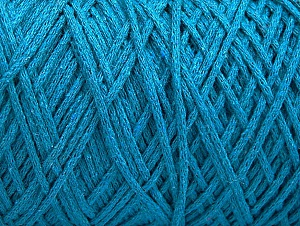 Please be advised that yarn iade made of recycled cotton, and dye lot differences occur. Fiber Content 100% Cotton, Turquoise, Brand Ice Yarns, Yarn Thickness 4 Medium  Worsted, Afghan, Aran, fnt2-60154