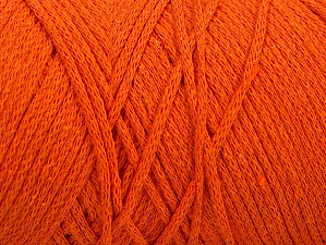 Please be advised that yarn iade made of recycled cotton, and dye lot differences occur. Fiber Content 100% Cotton, Orange, Brand Ice Yarns, Yarn Thickness 4 Medium  Worsted, Afghan, Aran, fnt2-60155