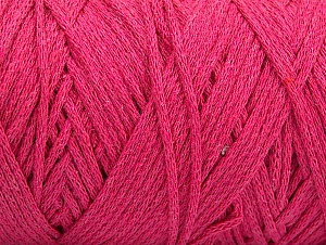Please be advised that yarn iade made of recycled cotton, and dye lot differences occur. Fiber Content 100% Cotton, Brand Ice Yarns, Fuchsia, Yarn Thickness 4 Medium  Worsted, Afghan, Aran, fnt2-60157
