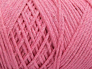 Please be advised that yarn iade made of recycled cotton, and dye lot differences occur. Fiber Content 100% Cotton, Light Pink, Brand Ice Yarns, Yarn Thickness 4 Medium  Worsted, Afghan, Aran, fnt2-60158