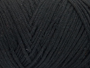 Please be advised that yarn iade made of recycled cotton, and dye lot differences occur. Fiber Content 100% Cotton, Brand Ice Yarns, Black, Yarn Thickness 5 Bulky  Chunky, Craft, Rug, fnt2-60159