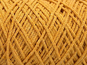 Please be advised that yarn iade made of recycled cotton, and dye lot differences occur. Fiber Content 100% Cotton, Brand Ice Yarns, Dark Yellow, Yarn Thickness 4 Medium  Worsted, Afghan, Aran, fnt2-60165