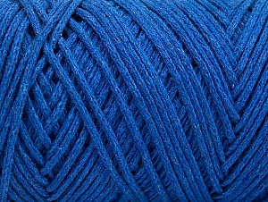 Please be advised that yarn iade made of recycled cotton, and dye lot differences occur. Fiber Content 100% Cotton, Brand Ice Yarns, Blue, Yarn Thickness 5 Bulky  Chunky, Craft, Rug, fnt2-60176