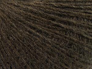 Fiber Content 50% Wool, 50% Acrylic, Brand Ice Yarns, Brown, Yarn Thickness 2 Fine  Sport, Baby, fnt2-60181
