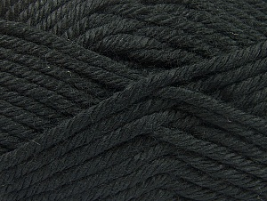 Fiber Content 100% Acrylic, Brand Ice Yarns, Black, Yarn Thickness 6 SuperBulky  Bulky, Roving, fnt2-60213