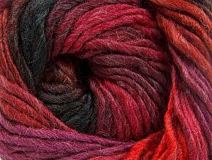 Fiber Content 50% Wool, 50% Acrylic, Red, Purple, Brand Ice Yarns, Dark Green, Copper, Yarn Thickness 5 Bulky  Chunky, Craft, Rug, fnt2-60248