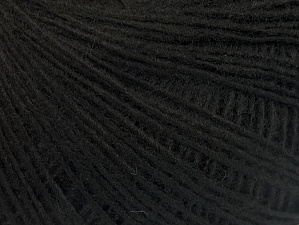 Fiber Content 100% Acrylic, Brand Ice Yarns, Black, Yarn Thickness 2 Fine  Sport, Baby, fnt2-60334