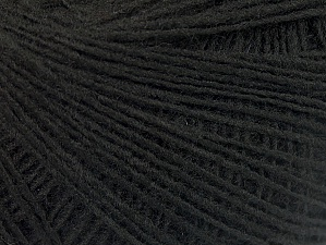 Fiber Content 100% Acrylic, Brand Ice Yarns, Black, Yarn Thickness 2 Fine  Sport, Baby, fnt2-60335