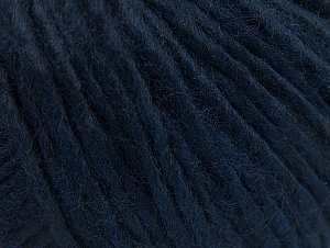 Fiber Content 100% Acrylic, Navy, Brand Ice Yarns, Yarn Thickness 4 Medium  Worsted, Afghan, Aran, fnt2-60392