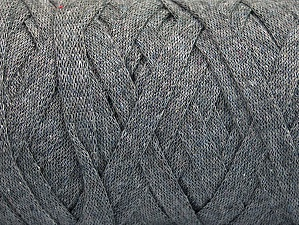 Fiber Content 100% Recycled Cotton, Brand Ice Yarns, Grey, Yarn Thickness 6 SuperBulky  Bulky, Roving, fnt2-60398