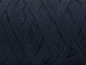 Fiber Content 100% Recycled Cotton, Brand Ice Yarns, Dark Navy, Yarn Thickness 6 SuperBulky  Bulky, Roving, fnt2-60399