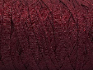 Fiber Content 100% Recycled Cotton, Maroon, Brand Ice Yarns, Yarn Thickness 6 SuperBulky  Bulky, Roving, fnt2-60400