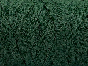 Fiber Content 100% Recycled Cotton, Brand Ice Yarns, Dark Green, Yarn Thickness 6 SuperBulky  Bulky, Roving, fnt2-60401