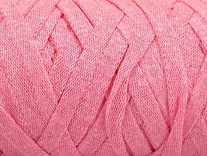 Fiber Content 100% Recycled Cotton, Light Pink, Brand Ice Yarns, Yarn Thickness 6 SuperBulky  Bulky, Roving, fnt2-60402