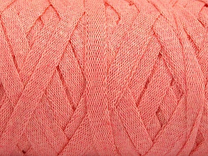 Fiber Content 100% Recycled Cotton, Light Salmon, Brand Ice Yarns, Yarn Thickness 6 SuperBulky  Bulky, Roving, fnt2-60404