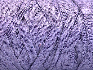 Fiber Content 100% Recycled Cotton, Lilac, Brand Ice Yarns, Yarn Thickness 6 SuperBulky  Bulky, Roving, fnt2-60405