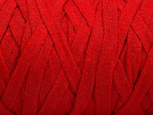 Fiber Content 100% Recycled Cotton, Red, Brand Ice Yarns, Yarn Thickness 6 SuperBulky  Bulky, Roving, fnt2-60406