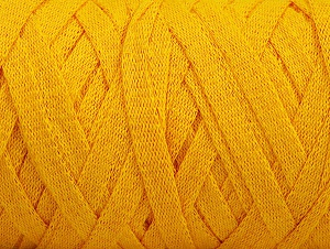 Fiber Content 100% Recycled Cotton, Yellow, Brand Ice Yarns, Yarn Thickness 6 SuperBulky  Bulky, Roving, fnt2-60407