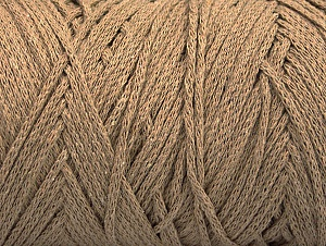 Please be advised that yarn iade made of recycled cotton, and dye lot differences occur. Fiber Content 100% Cotton, Brand Ice Yarns, Dark Beige, Yarn Thickness 4 Medium  Worsted, Afghan, Aran, fnt2-60409