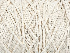 Please be advised that yarn iade made of recycled cotton, and dye lot differences occur. Fiber Content 100% Cotton, Off White, Brand Ice Yarns, Yarn Thickness 5 Bulky  Chunky, Craft, Rug, fnt2-60411