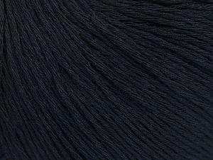 Fiber Content 100% Cotton, Brand Ice Yarns, Dark Navy, Yarn Thickness 1 SuperFine  Sock, Fingering, Baby, fnt2-60434